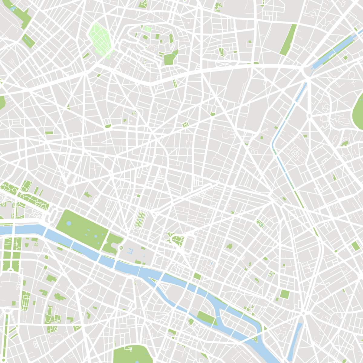 Cartographie de Paris